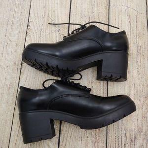 Steve Madden oxford  chunky heels